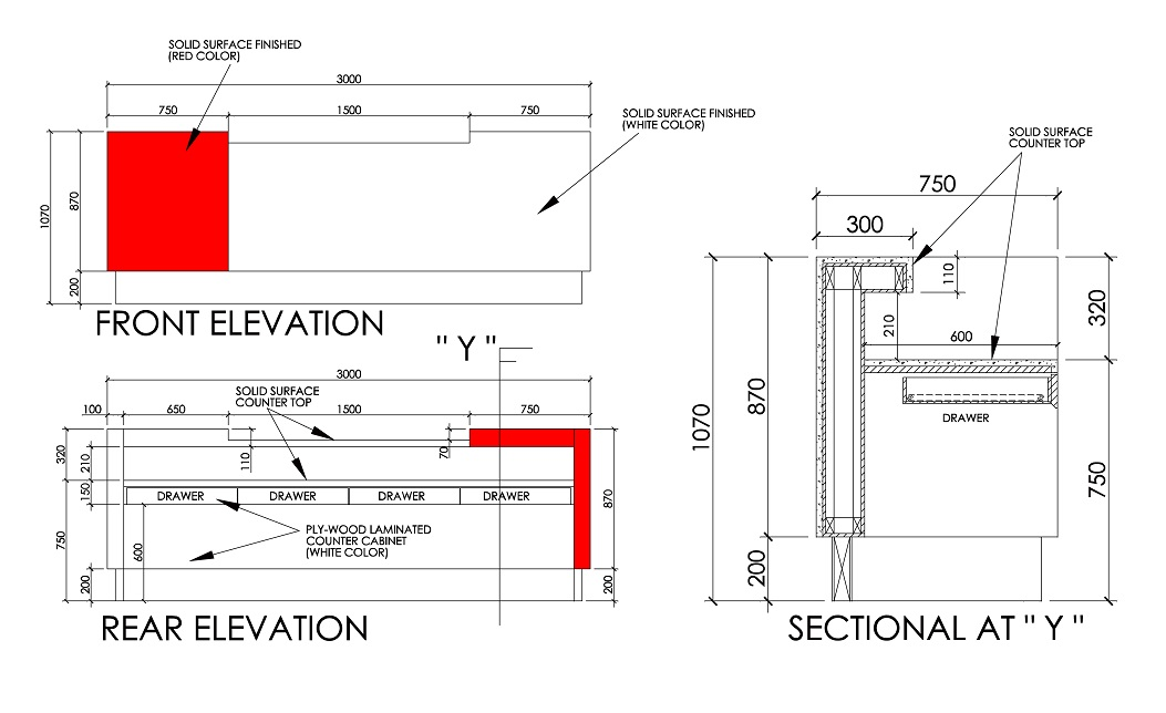 Detail Drawing Fabron Design Interior Design Drawings Service Online